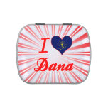 Amo a Dana, Indiana Jarrones De Caramelos