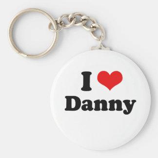 Amo a Danny Gokey Llavero Redondo Tipo Pin