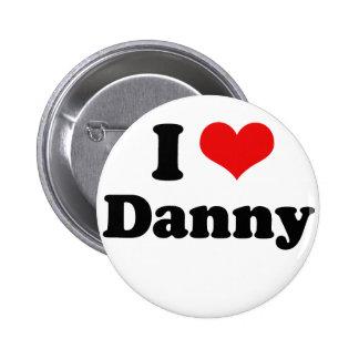 Amo a Danny Gokey Pin Redondo De 2 Pulgadas