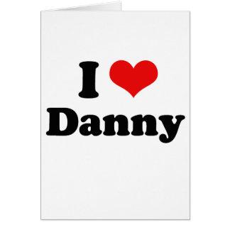 Amo a Danny Gokey Tarjetón