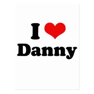 Amo a Danny Gokey Tarjeta Postal