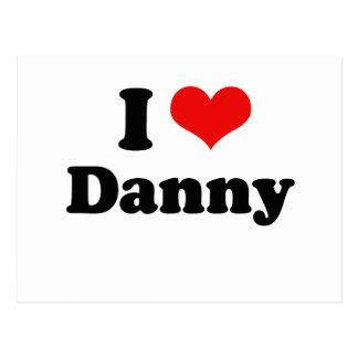 Amo a Danny Gokey Postal