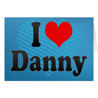 Amo a Danny Tarjetón