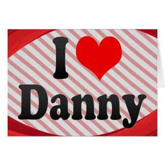 Amo a Danny Tarjetas
