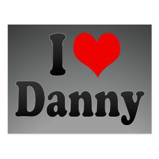 Amo a Danny Tarjetas Postales