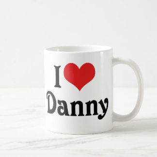 Amo a Danny Taza De Café