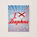 Amo a Daphne, Alabama Rompecabezas Con Fotos