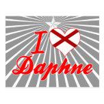 Amo a Daphne, Alabama Tarjetas Postales