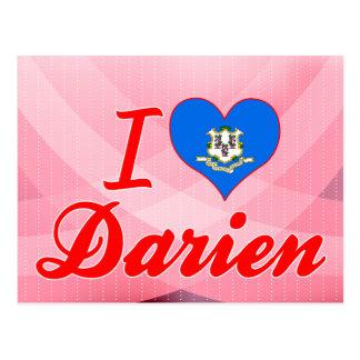 Amo a Darien, Connecticut Postal
