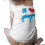 Amo a Demócratas Camiseta De Perro