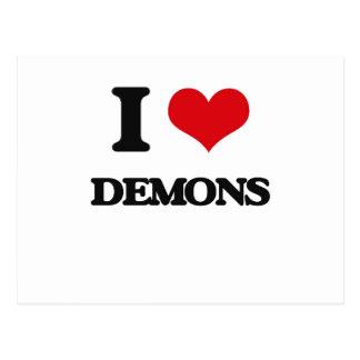 Amo a demonios postal