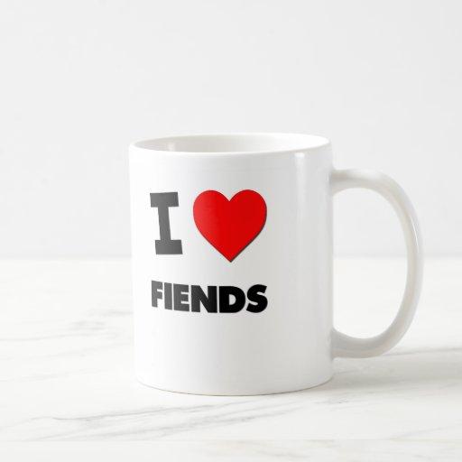 Amo a demonios tazas de café