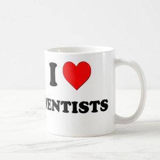 Amo a dentistas tazas de café
