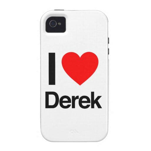 amo a Derek iPhone 4/4S Fundas