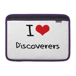 Amo a descubridores funda para macbook air