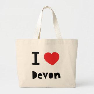 Amo a Devon Bolsas