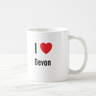 Amo a Devon Taza Clásica
