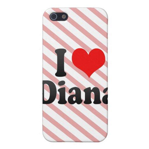 Amo a Diana iPhone 5 Cárcasa