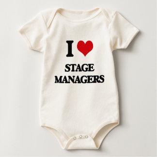 Amo a directores de escena traje de bebé
