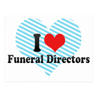 Amo a directores de funeraria postal