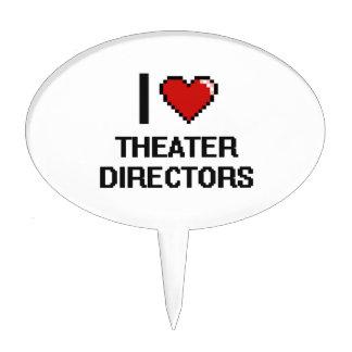 Amo a directores del teatro decoraciones para tartas
