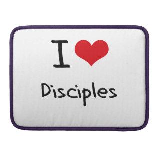 Amo a discípulos fundas para macbook pro