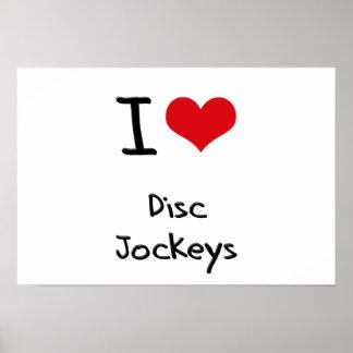 Amo a discs jockeyes posters
