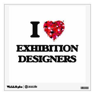Amo a diseñadores de la exposición