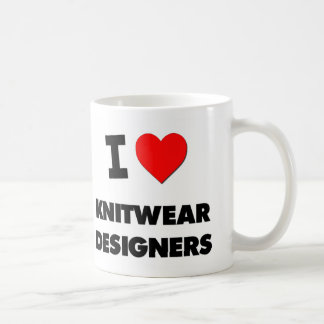 Amo a diseñadores de los géneros de punto taza