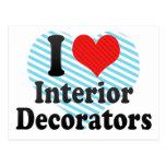 Amo a diseñadores de los muebles postales