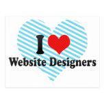 Amo a diseñadores del Web site Postal