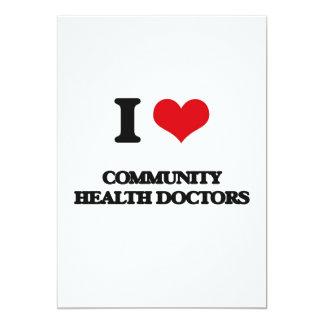 Amo a doctores de la salud de la comunidad