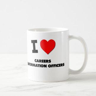 Amo a documentalistas de las carreras tazas de café