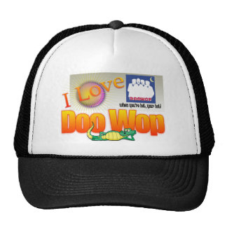 Amo a Doo Wop el casquillo Gorros