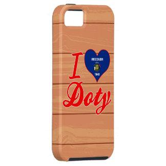 Amo a Doty, Wisconsin iPhone 5 Case-Mate Coberturas
