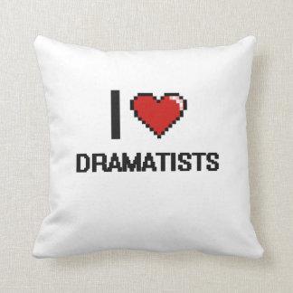 Amo a dramaturgos cojines