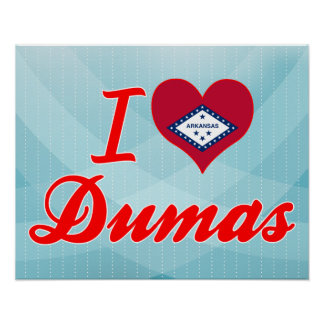 Amo a Dumas, Arkansas Impresiones