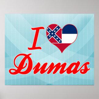 Amo a Dumas, Mississippi Poster