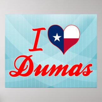 Amo a Dumas, Tejas Poster