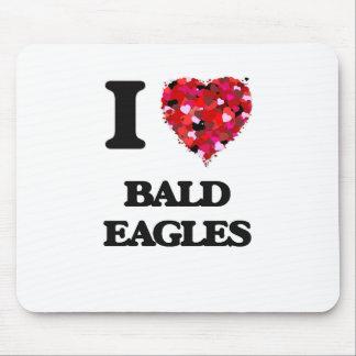 Amo a Eagles calvo Alfombrilla De Raton