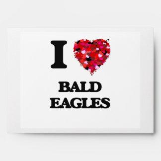 Amo a Eagles calvo Sobres