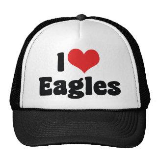Amo a Eagles Gorro
