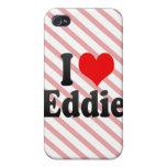 Amo a Eddie iPhone 4 Funda