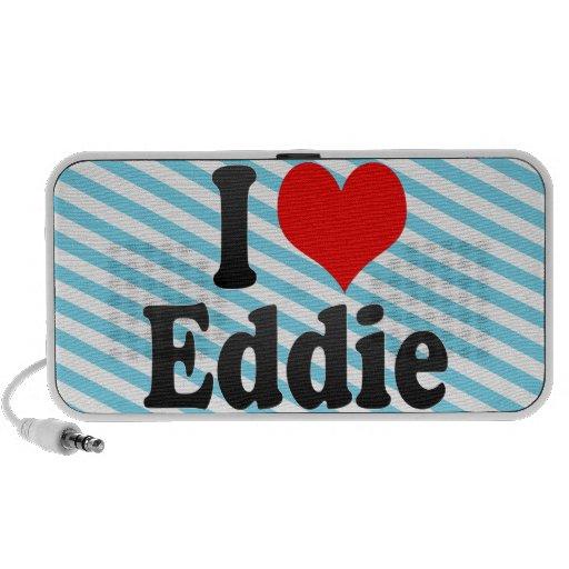 Amo a Eddie Notebook Altavoces