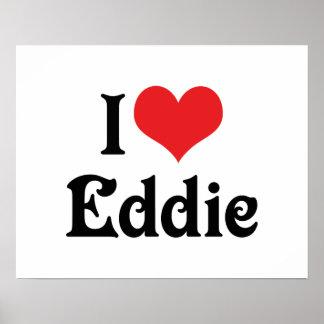 Amo a Eddie Póster