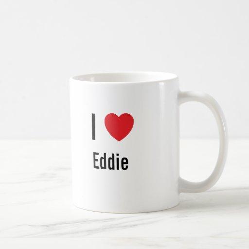 Amo a Eddie Taza De Café