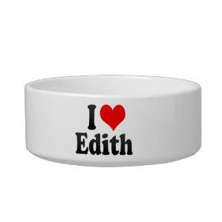 Amo a Edith Bol Para Gato