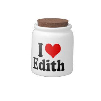 Amo a Edith Jarras Para Caramelos