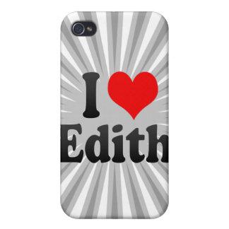 Amo a Edith iPhone 4 Cobertura