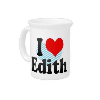 Amo a Edith Jarra